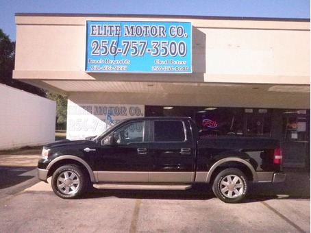 2006 FORD F-150 CREW CAB KING RANCH 2WD